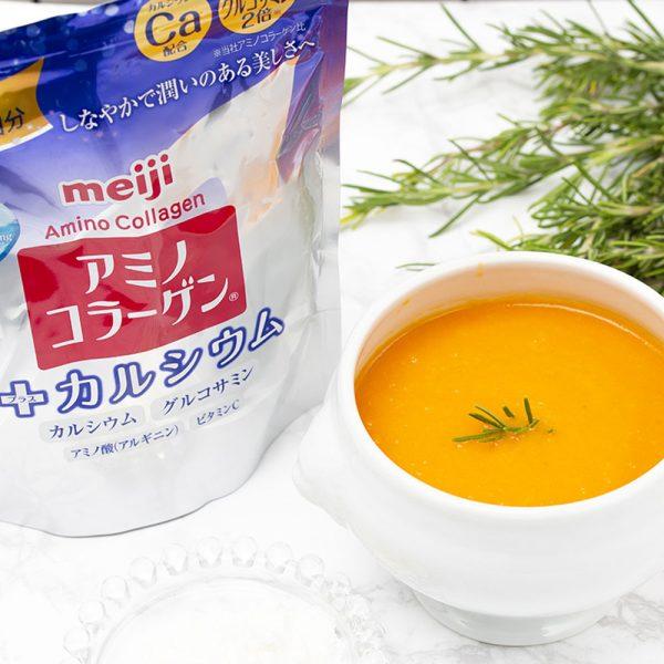 MEIJI Amino Collagen Plus Calcium Made in Japan