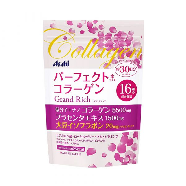 ASAHI Perfect Asta Collagen Powder Grand Rich with Placenta