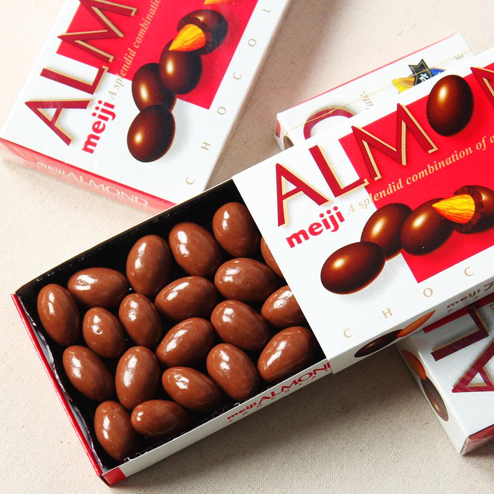 MEIJI Chocolate Almonds Made in Japan