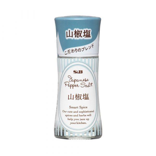 S&B Smart Spice Japanese Pepper Salt Made in Japan