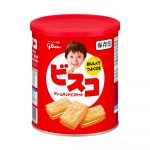 GLICO Bisco Butter Flavour Can Made in Japan
