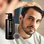DHC MEN All in One Black Shampoo and Conditioner Made in Japan